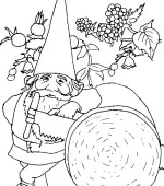 coloriage david le gnome 010