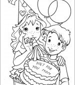 coloriage holly hobbie 004