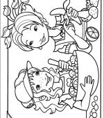 coloriage holly hobbie 005