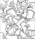 coloriage holly hobbie 007