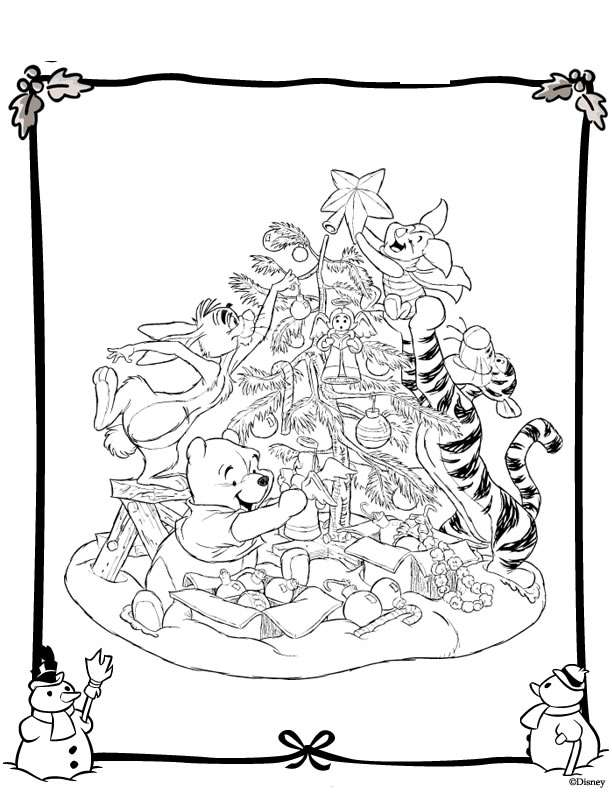 Index Of Coloriages Noel Noel Disney