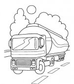 coloriage camions 008